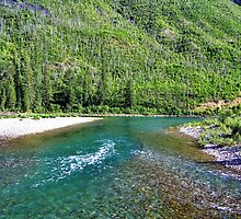 Fishing Paradise (Glacier National Park, Montana, USA) by rocamiadesign