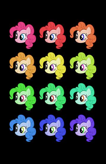 Pinkie Pie - Rave (Poster Version) by Strangetalk