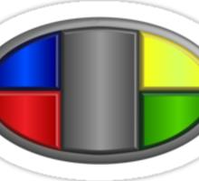 Current Badge Key Sticker