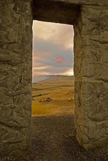 The Doorway at Stonehenge by Robert H Carney