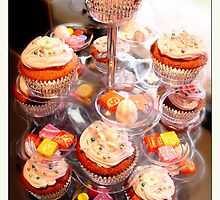 6th birthday cupcakes & lollies by vampvamp