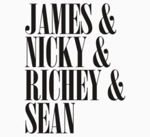 James & Nicky & Richey & Sean (Manic Street Preachers) by jezkemp