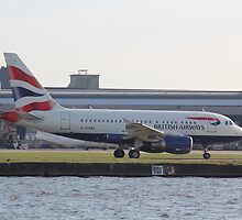 G-EUNA A318-112 British Airways  by J0KER
