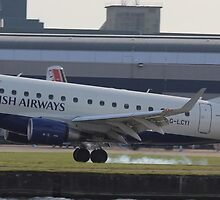 G-LCYI Emb170 British Airways by J0KER