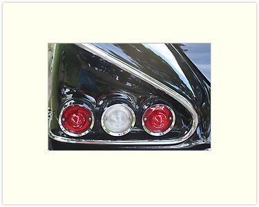 Street Rod Art: Catch Me by Karen K Smith