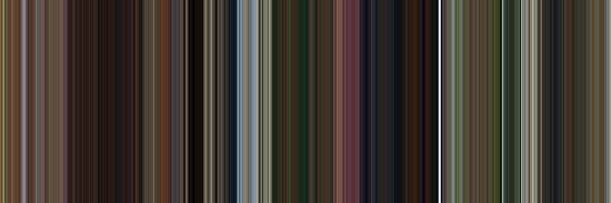 Moviebarcode: Madagascar (2005) [Simplified Colors] by moviebarcode