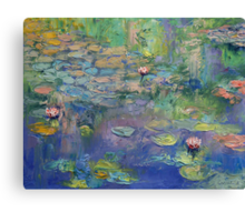 Water Garden Canvas Print
