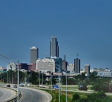Downtown Omaha Nebraska by plunder
