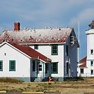 Point Wilson Lighthouse by Marjorie Wallace