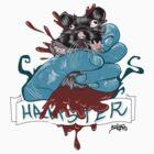 Hamster explosion by Baser
