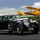 Vintage 1930's Kings of Speed by PAUL57
