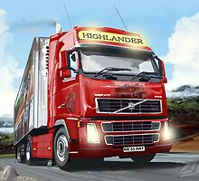 FH VOLVO HIGHLAND TRUCKER by PAUL57