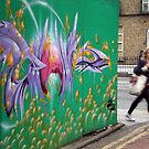 Graffiti lane by Esther  Moliné