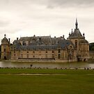 Castle Chantilly- Chantilly, Castle by Jenny Hambleton