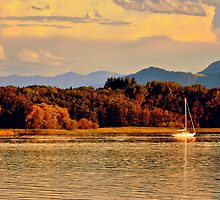 Lake Chiemsee - Germany by Daidalos