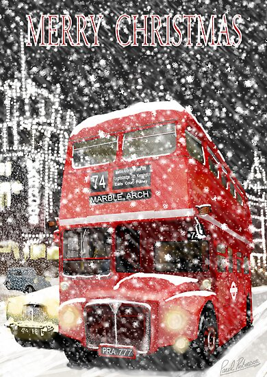 Christmas Routemaster bus. by PAUL57