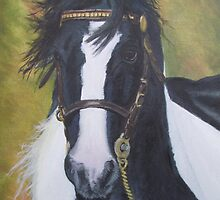 Appleby horse by Sharon Herbert