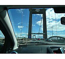 Leaving Cornwall Via The Tamar Bridge Photographic Print