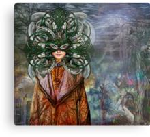Mystical Adventures II ~ NiLhsa Eermat (art & poetry) Metal Print