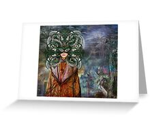 Mystical Adventures II ~ NiLhsa Eermat (art & poetry) Greeting Card