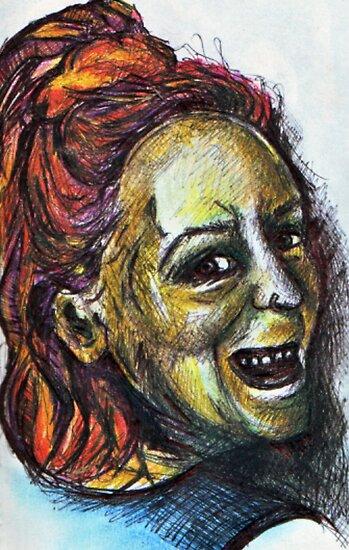 Smiley Me - DreddArt Self Portrait by DreddArt