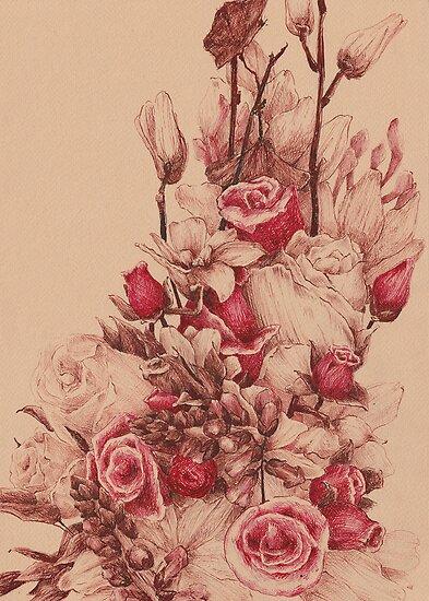 Flowers II by Mina Markovi?