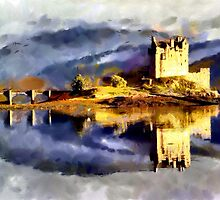 Beautiful Britain - Eilean Donan Castle, Scotland by Dennis Melling