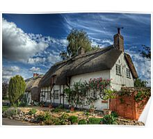 Wheelwrights Cottage - Winchester Poster