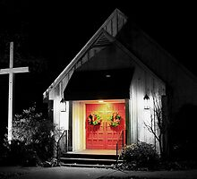 Doors of St Mathews  by JLBphoto