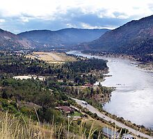 Columbia River at Trail by Jann Ashworth