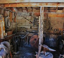 The Blacksmiths Shop by trueblvr