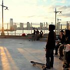 Sunsets Upon Skate Park by Nycon360
