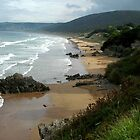 Putsborough Sands, Devon by rkdownton