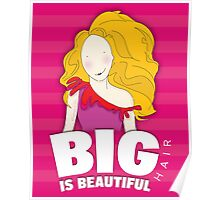 Girl With Big Hair_2 Poster