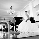 Bride at the piano by ajreece
