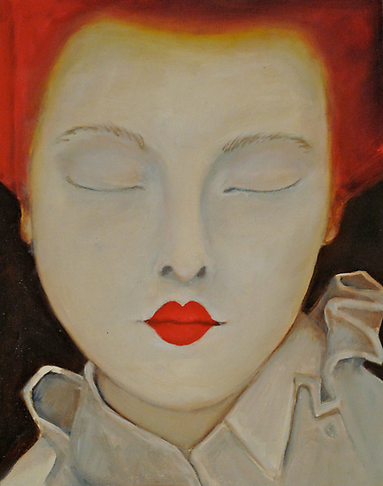 Elizabeth - Original Oil Painting by Jenny Hambleton