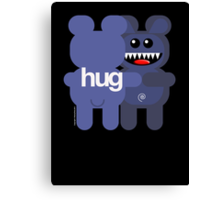 BEAR HUG ART Canvas Print