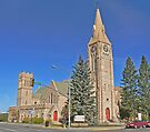 St Mathews Cathedral, Laramie by Graeme  Hyde
