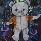 Teddy Bear in magical world by PlattEileen