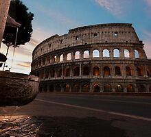 Coliseum at dawn by erugopu