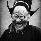 Laughing Buddhist Monk  by RajeevKashyap