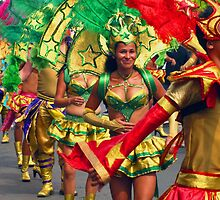 Carneval in Puriscal, Costa Rica by Guy Tschiderer