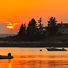 Sunset, Deer Isle, Maine by fauselr
