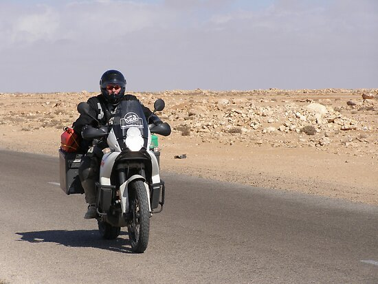 Desert Rider by Michael Rowlands