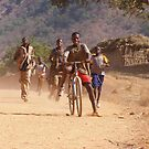 Children Of Mali by Michael Rowlands