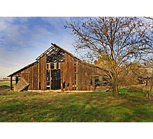 Old Barn  - Rural San Joaquin Valley Photographic Print