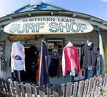 Northern Light Surf Shop by westcountyweste