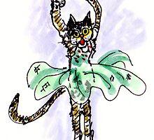 Ballerina Cat by Suzy Woodall