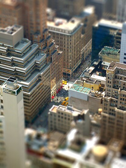 New York Tilt Shift by dgscotland