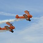 Breitling Wingwalkers at the Bournemouth Airshow 4 by Red47